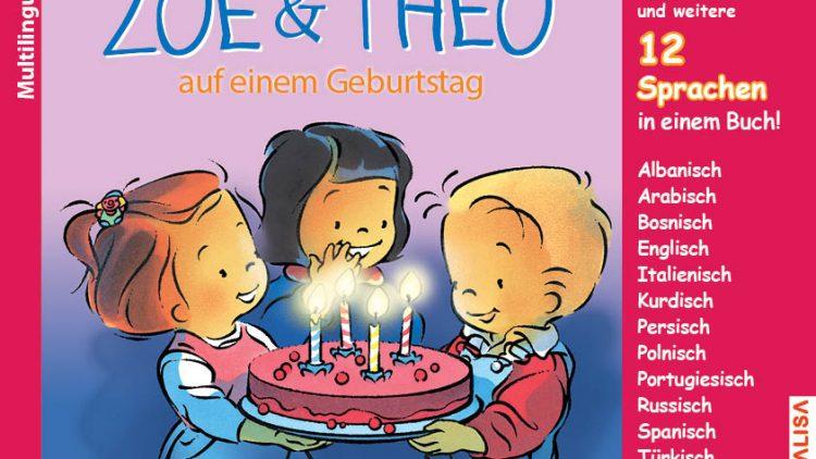 Nr. 2 ZOE & THEO auf einem Geburtstag