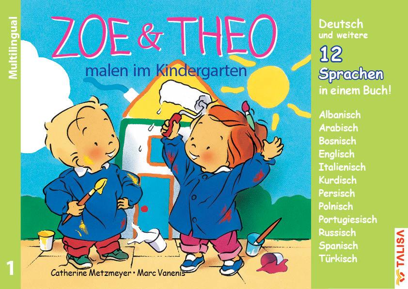 Nr.1 ZOE & THEO malen im Kindergarten