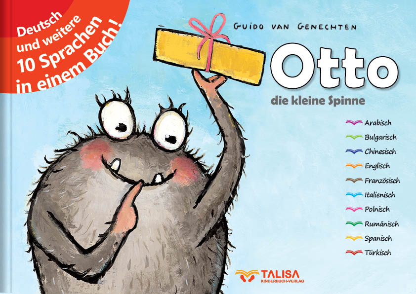 Otto - die kleine Spinne - TALISA Kinderbuchverlag